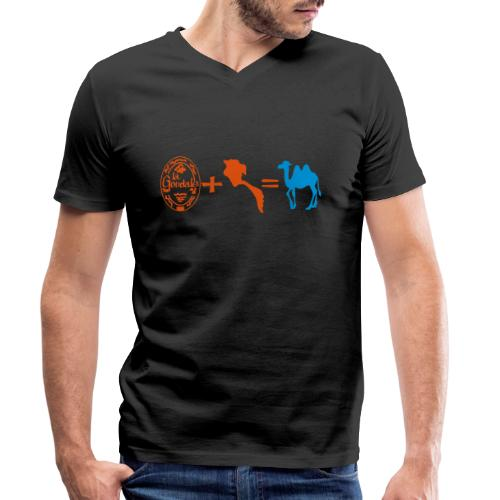 goudale noirmout5 - T-shirt bio col V Stanley & Stella Homme