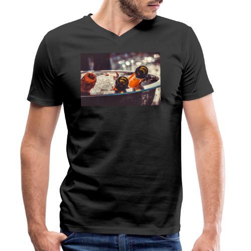 Champaign Bekleidung - Männer Bio-T-Shirt mit V-Ausschnitt von Stanley & Stella