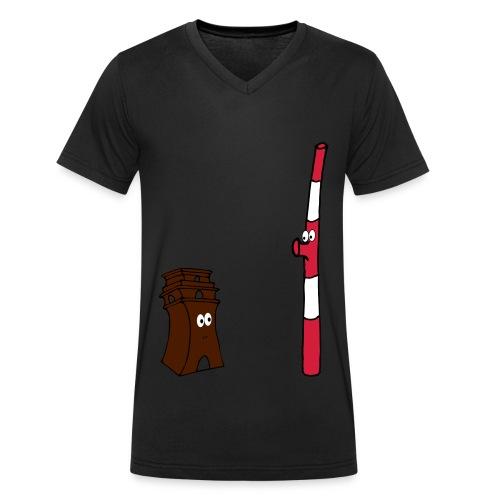 s2 - Männer Bio-T-Shirt mit V-Ausschnitt von Stanley & Stella