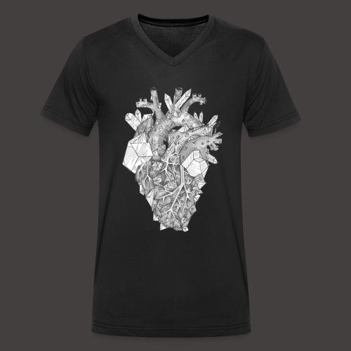 Le Coeur de Cristal - T-shirt bio col V Stanley & Stella Homme