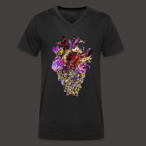 Le Coeur de Cristal Creepy - T-shirt bio col V Stanley & Stella Homme