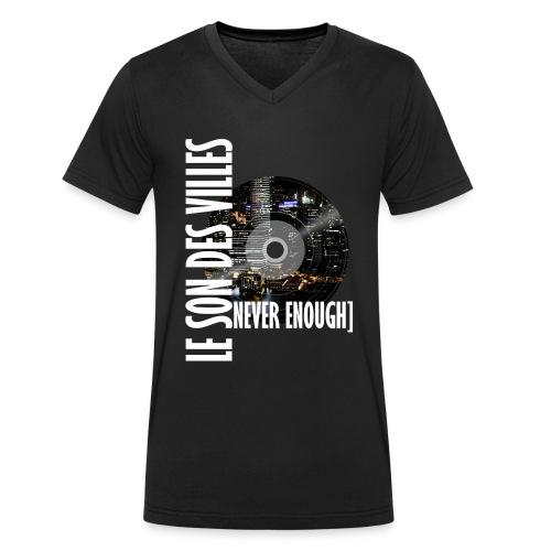Le Son Des Villes : World Vinyl - T-shirt bio col V Stanley & Stella Homme