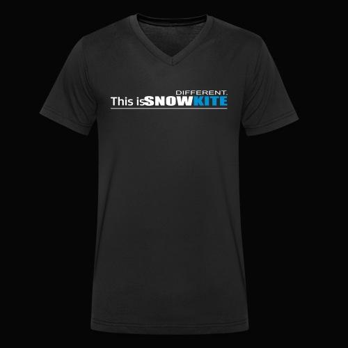 this is snowkite - T-shirt bio col V Stanley & Stella Homme