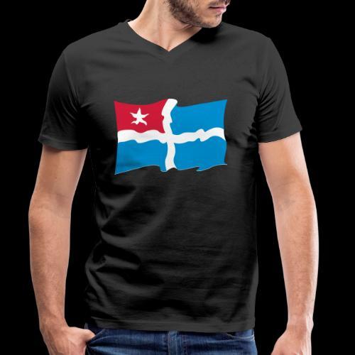 kreta - Männer Bio-T-Shirt mit V-Ausschnitt von Stanley & Stella