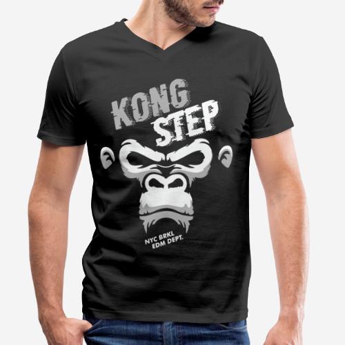 dubstep dub step music edm - Männer Bio-T-Shirt mit V-Ausschnitt von Stanley & Stella