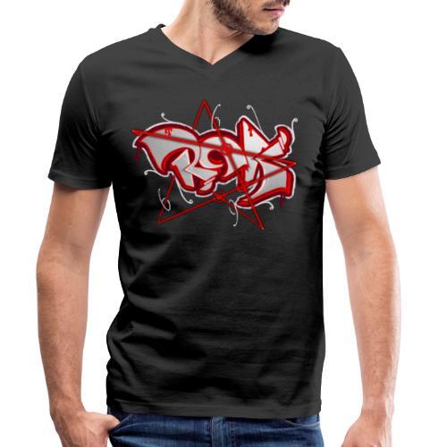 RCKstar666 - Männer Bio-T-Shirt mit V-Ausschnitt von Stanley & Stella