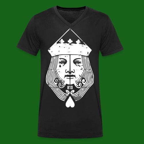 810-King - Männer Bio-T-Shirt mit V-Ausschnitt von Stanley & Stella