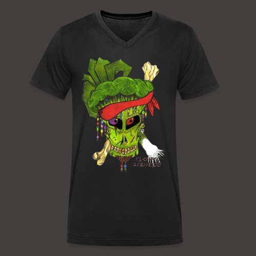 PIRATE BROCCOLI - T-shirt bio col V Stanley & Stella Homme