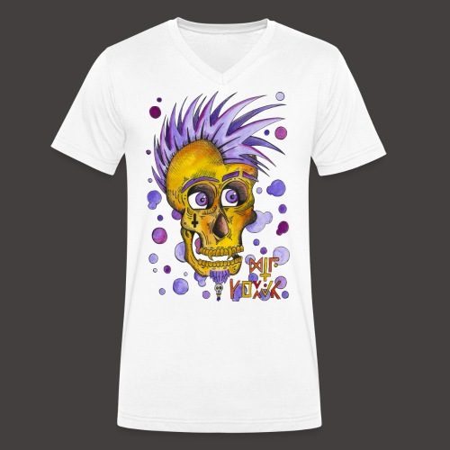 Autoportrait - T-shirt bio col V Stanley & Stella Homme