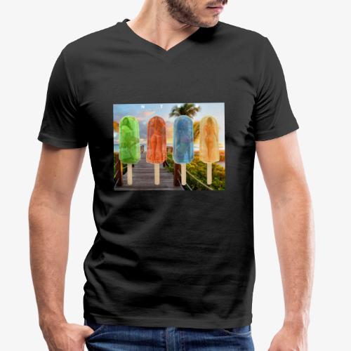 Ice Cream - T-shirt bio col V Stanley & Stella Homme