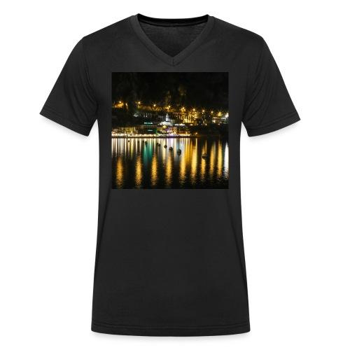 Limone sul Garda - Männer Bio-T-Shirt mit V-Ausschnitt von Stanley & Stella