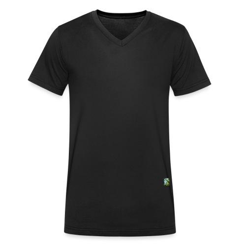 C4 - Ekologisk T-shirt med V-ringning herr från Stanley & Stella