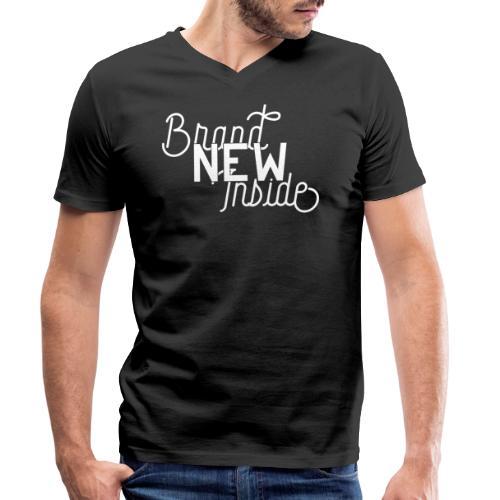 Brand New Inside because of Jesus - Männer Bio-T-Shirt mit V-Ausschnitt von Stanley & Stella