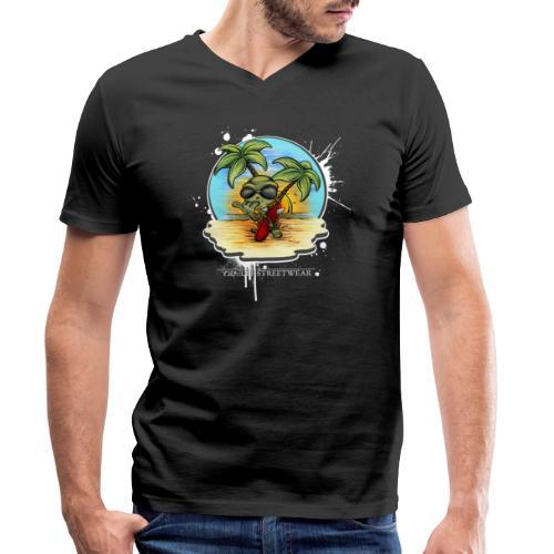 Let's have a surf back home! - Männer Bio-T-Shirt mit V-Ausschnitt von Stanley & Stella