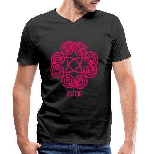 evoe - Männer Bio-T-Shirt mit V-Ausschnitt von Stanley & Stella