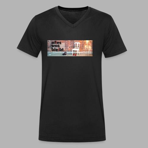 ALLES WAS BLEIBT - Prog-Rock mit deutschen Texten - Männer Bio-T-Shirt mit V-Ausschnitt von Stanley & Stella
