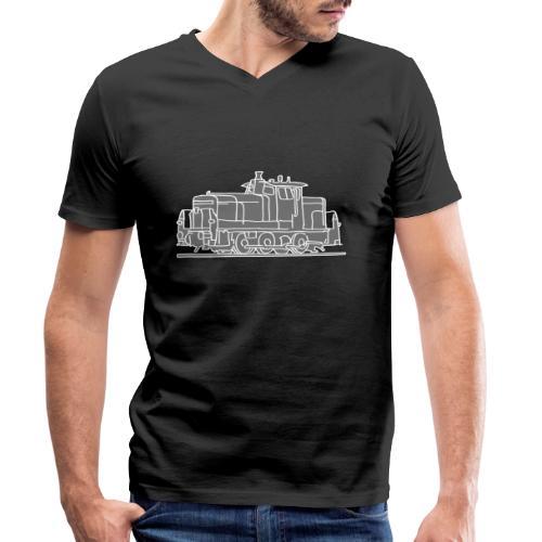 Diesel-Lokomotive 2 - Männer Bio-T-Shirt mit V-Ausschnitt von Stanley & Stella