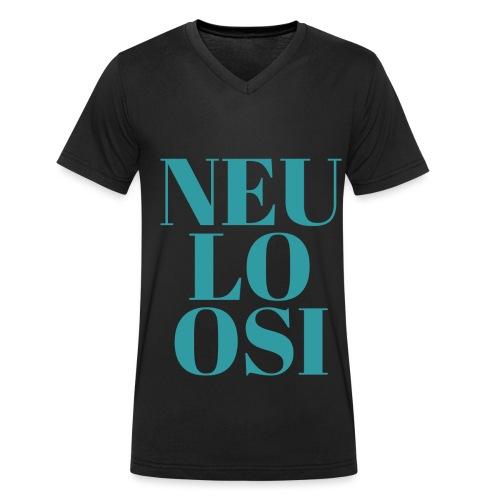 Neuloosi - Men's Organic V-Neck T-Shirt by Stanley & Stella