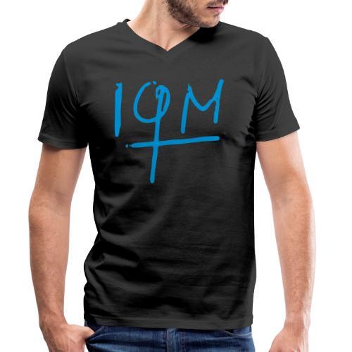 iqm_small - Männer Bio-T-Shirt mit V-Ausschnitt von Stanley & Stella