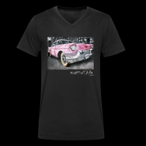 CADDY - Männer Bio-T-Shirt mit V-Ausschnitt von Stanley & Stella