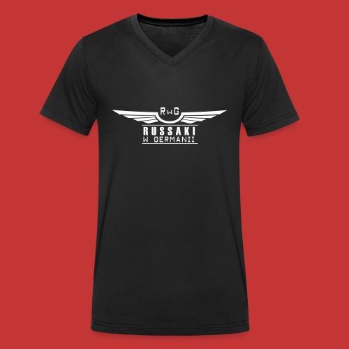 Russaki w Germanii - Männer Bio-T-Shirt mit V-Ausschnitt von Stanley & Stella
