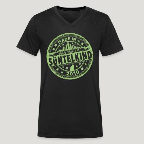 SÜNTELKIND 2010 - Das Süntel Shirt mit Süntelturm - Männer Bio-T-Shirt mit V-Ausschnitt von Stanley & Stella