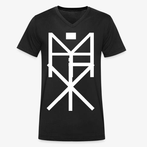 RYKKI - Männer Bio-T-Shirt mit V-Ausschnitt von Stanley & Stella