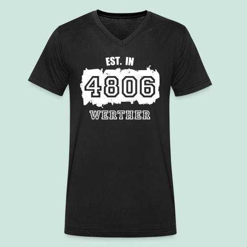 Established 4806 Werther - Männer Bio-T-Shirt mit V-Ausschnitt von Stanley & Stella