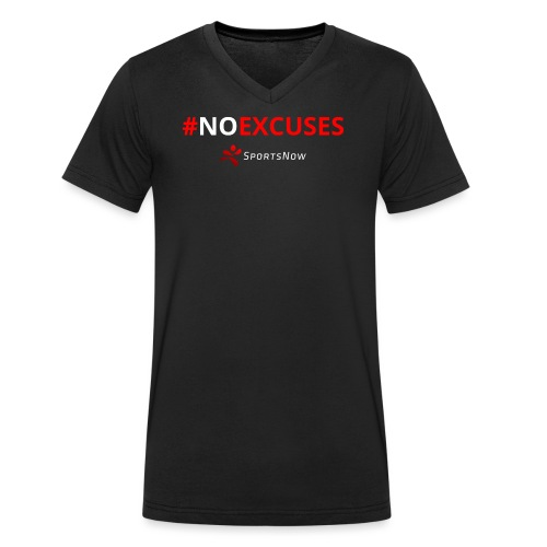 #NoExcuses - Männer Bio-T-Shirt mit V-Ausschnitt von Stanley & Stella