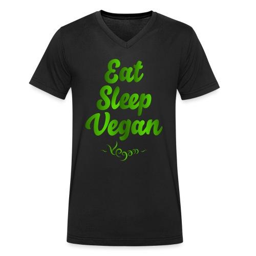 Eat Sleep Vegan - Stanley & Stellan miesten luomupikeepaita