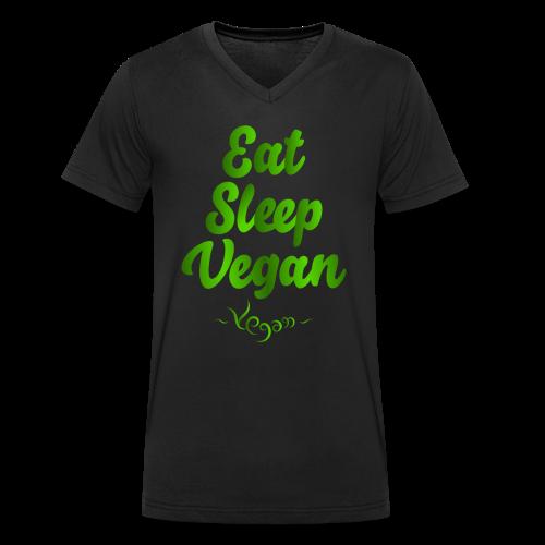 Eat Sleep Vegan - Stanley & Stellan naisten luomupikeepaita