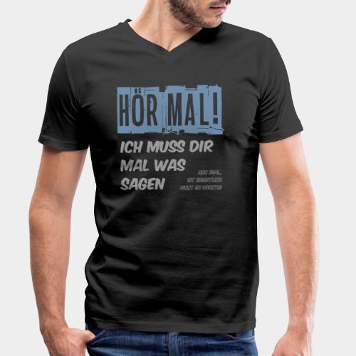 GHB Ist nicht so wichtig 06112017 3 - Männer Bio-T-Shirt mit V-Ausschnitt von Stanley & Stella