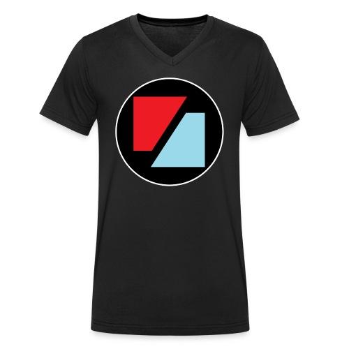 Rockzeit Logo original - Økologisk Stanley & Stella T-shirt med V-udskæring til herrer