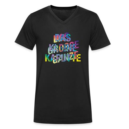 DGGDKK - Männer Bio-T-Shirt mit V-Ausschnitt von Stanley & Stella
