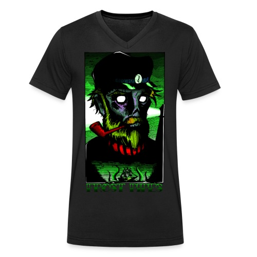 Eldritch Sailor - Men's Organic V-Neck T-Shirt by Stanley & Stella