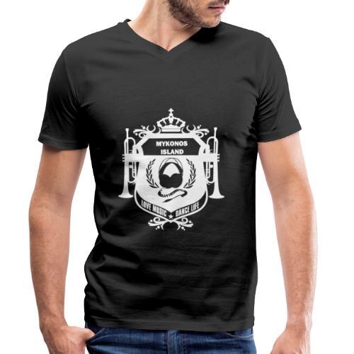 Mykonos Vibes - T-shirt bio col V Stanley & Stella Homme