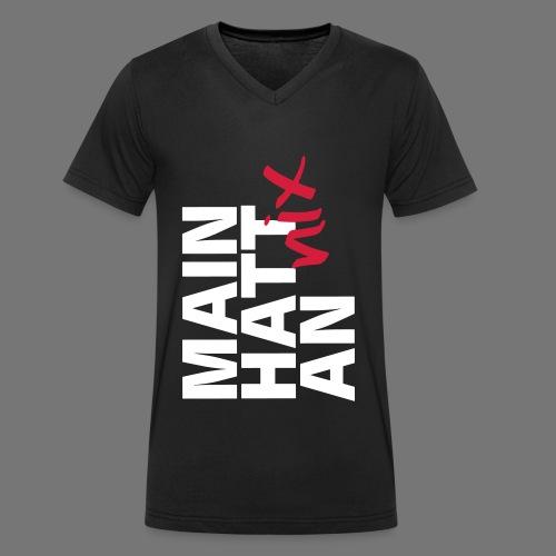 MAIN HATT nix AN - Männer Bio-T-Shirt mit V-Ausschnitt von Stanley & Stella