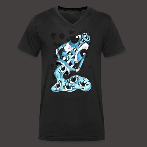 Verseau original - T-shirt bio col V Stanley & Stella Homme