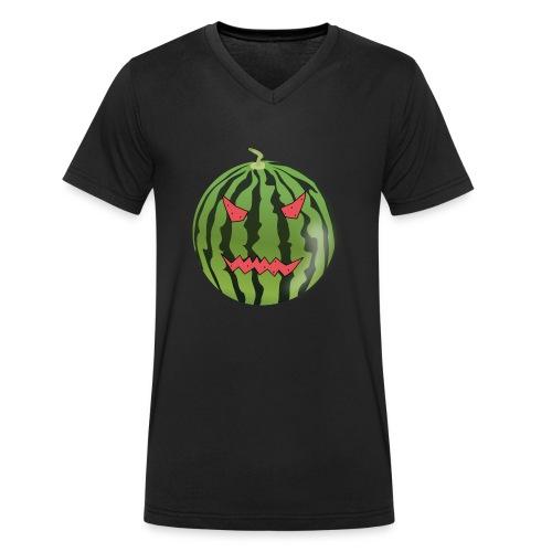 Melloween - Männer Bio-T-Shirt mit V-Ausschnitt von Stanley & Stella