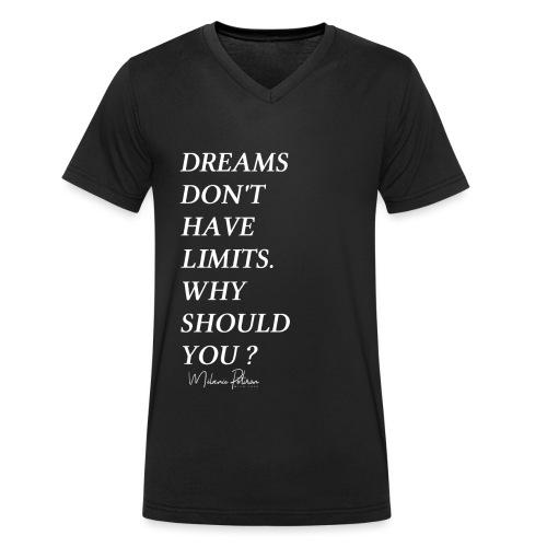 DREAMS DON'T HAVE LIMITS - T-shirt bio col V Stanley & Stella Homme