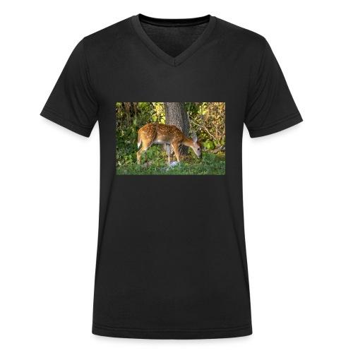 T-shirt cerf - T-shirt bio col V Stanley & Stella Homme