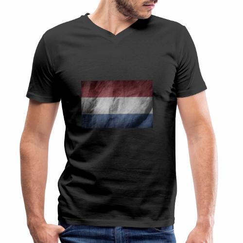 Holland - Männer Bio-T-Shirt mit V-Ausschnitt von Stanley & Stella
