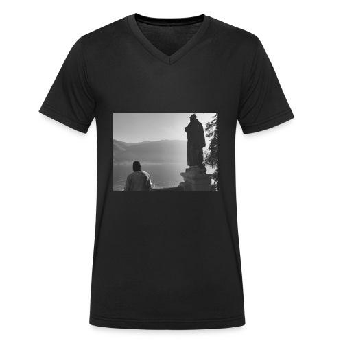 IMG 2606 - T-shirt ecologica da uomo con scollo a V di Stanley & Stella