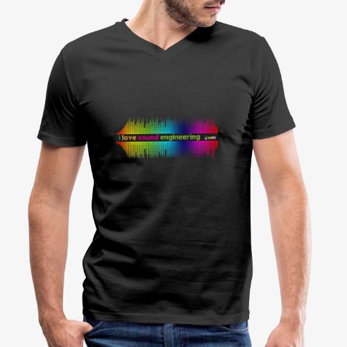 Mix 002 - Camiseta ecológica hombre con cuello de pico de Stanley & Stella