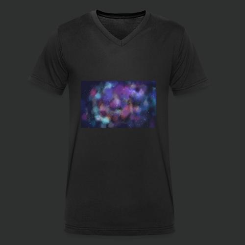 Supernova - T-shirt ecologica da uomo con scollo a V di Stanley & Stella