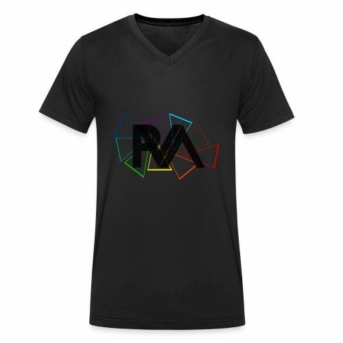 SIGLA DEL PARTITO P.V.A. - T-shirt ecologica da uomo con scollo a V di Stanley & Stella
