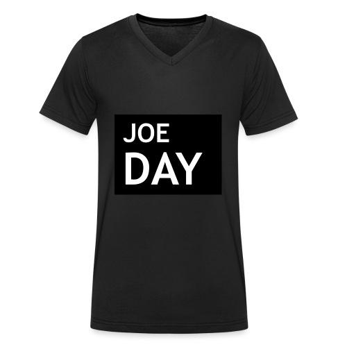 Joe Day - Men's Organic V-Neck T-Shirt by Stanley & Stella