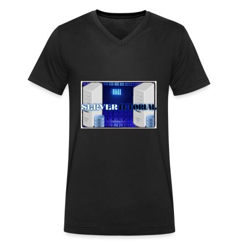 Server Tutorial - T-shirt ecologica da uomo con scollo a V di Stanley & Stella