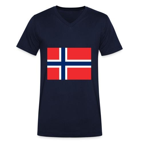 DixieMertch - Økologisk T-skjorte med V-hals for menn fra Stanley & Stella