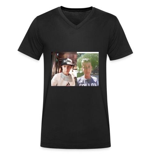 la meraviglia - T-shirt ecologica da uomo con scollo a V di Stanley & Stella